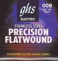 750 Rock'N Roll Precision Flatwound Electric струны для электрогитары