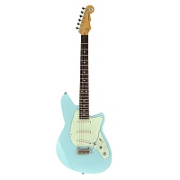 REVEREND SIX GUN GUITAR III CHRONIC BLUE